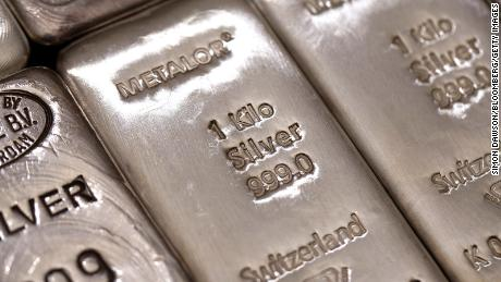 Silver is surging but users on WallStreetBets say they're not behind the rally