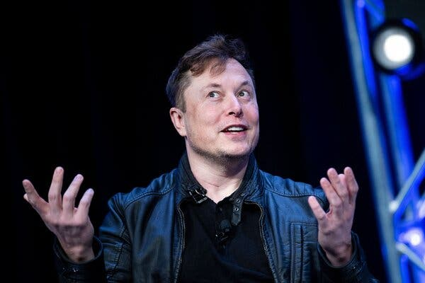 Elon Musk, the chief executive of Tesla, said on Twitter that the company would accept Bitcoin as payment for cars in the United States.