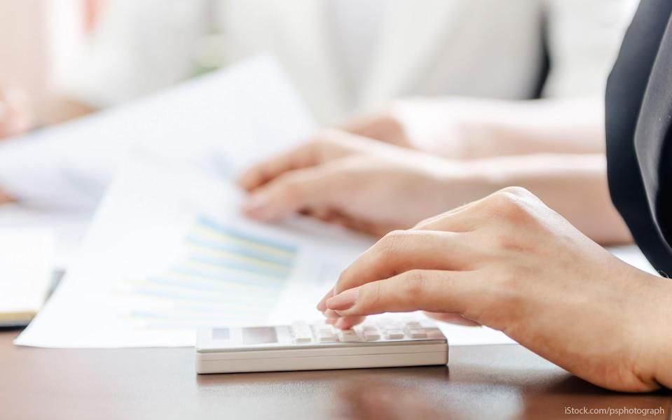 using a calculator for financial planning