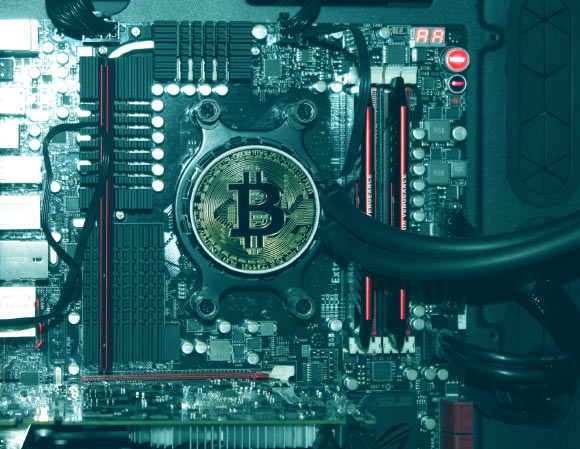 The annual energy consumption of the Bitcoin blockchain in China is expected to peak in 2024 at 296.59 Twh and generate 130.50 million metric tons of carbon emission. Image credit: Aaron Olson.