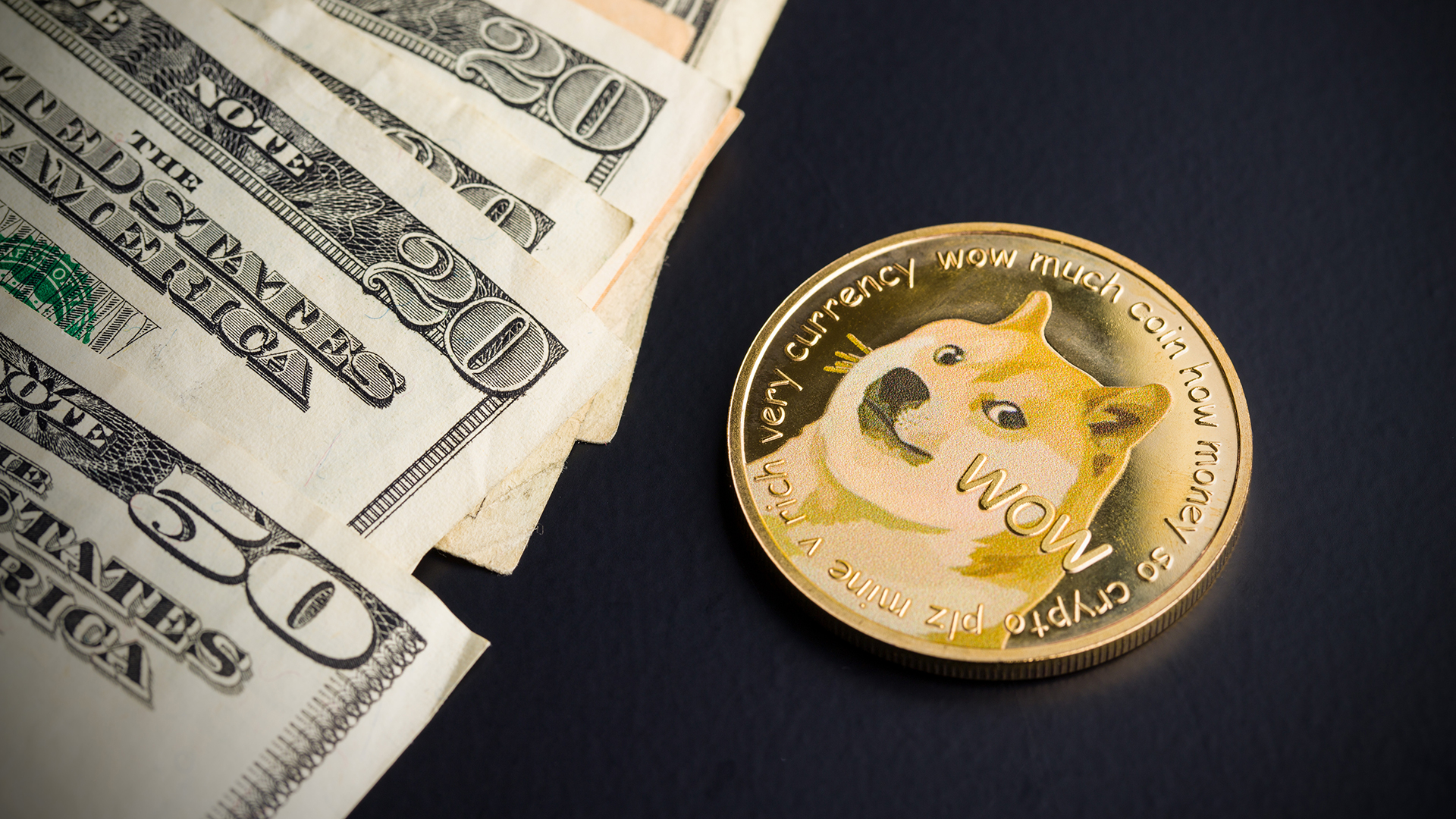 Top cryptocurrency listed — Dogecoin