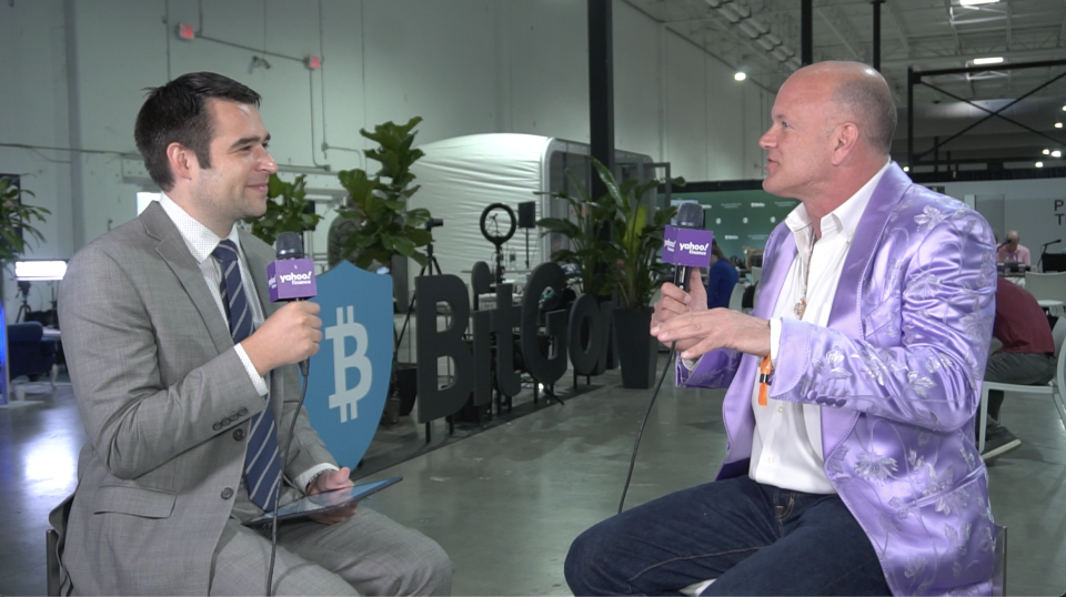 Galaxy Digital founder and CEO Mike Novogratz, 56, joined Yahoo Finance's Zack Guzman for an exclusive interview at Bitcoin 2021 in Miami.